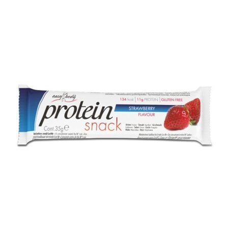 easy body protein bar strawberry