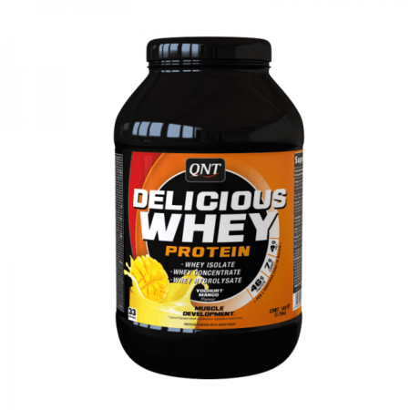 delicious whey protein yoghurt mango