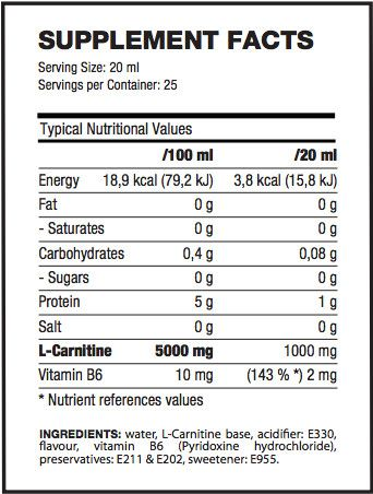 l carnitine liquid facts