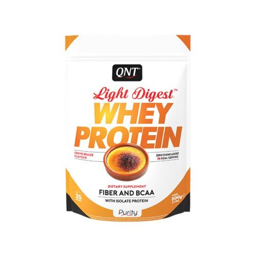 light digest whey protein creme brulee