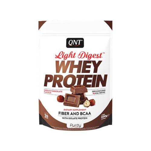light digest whey protein hezelnut chocolate
