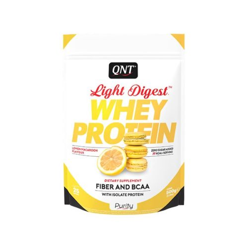 light digest whey protein lemon macaroon