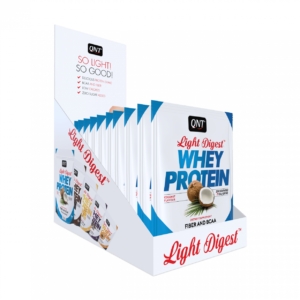 Light digest whey protein box coconut