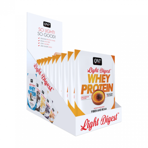 Light digest whey protein box creme brulee