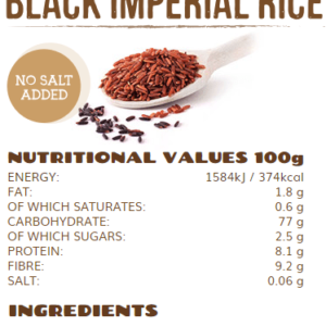 rice up black imperial rice