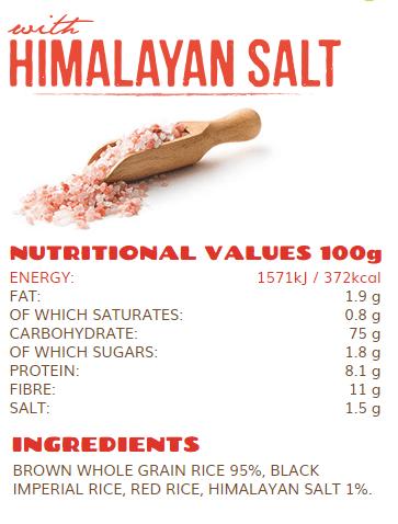 rice up himalayan salt