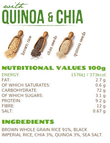 rice up quinoa chia