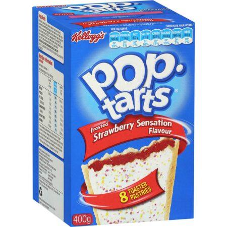 Kellogg&#;sPop Tarts&#;Γεμιστέςπροψημένεςτάρτες&#;Strawberry