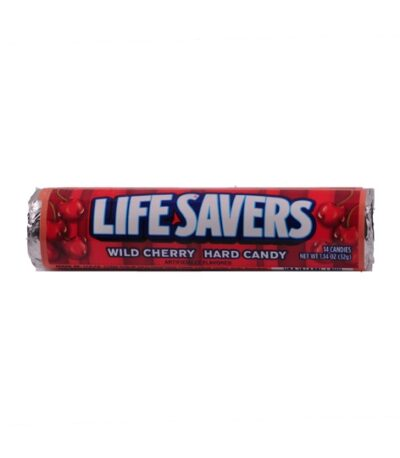 Lifesavers   Wild Cherry