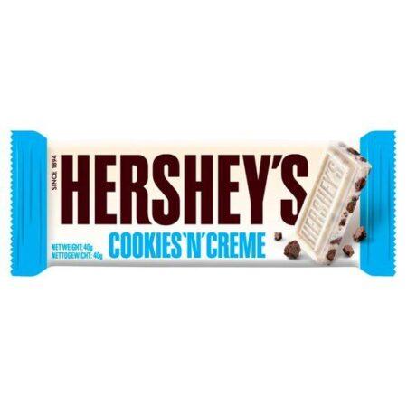 hersheys cookies n creme 40g