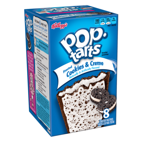 pop tarts cookies and creme  pack