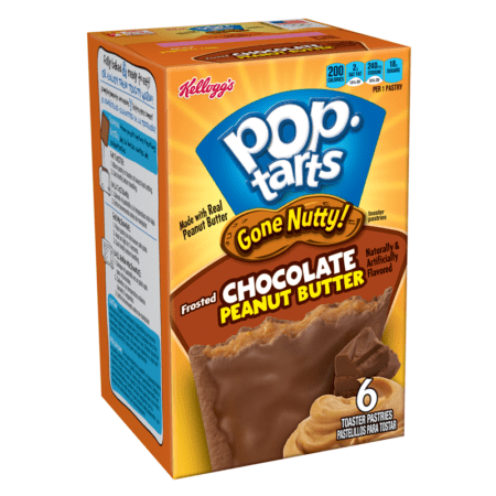 pop tarts gone nutty chocolate peanut butter