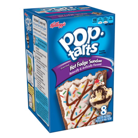 pop tarts hot fudge sundae  pack