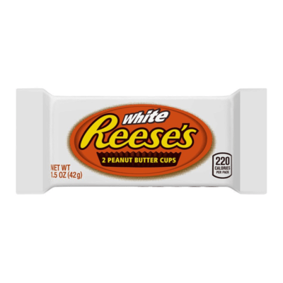 reeses cups white