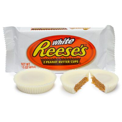 reeses white chocolate peanut butter cups  ic