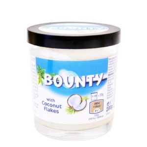 aleimma g with coconut flakes bounty