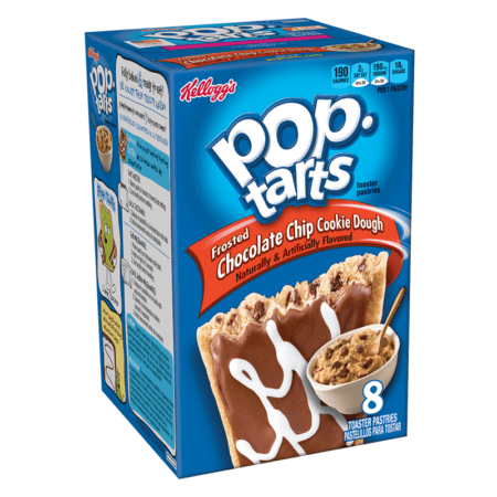 pop tarts chocolate chip cookie dough  pack