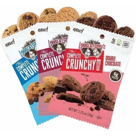 lenny larry s cookies lenny larry s crunchy cookies posted protein
