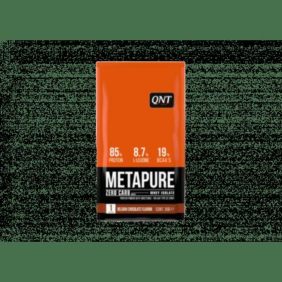 Metapure whey protein isolate box belgian chocolate