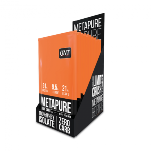 metapure whey protein isolate box red candy