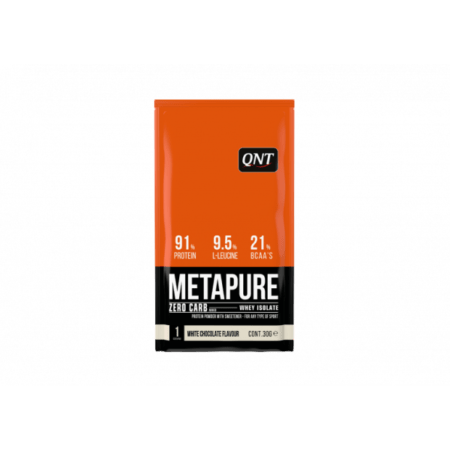 metapure whey protein isolate box white chocolate