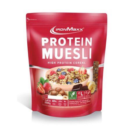 ironmaxx protein muesli g