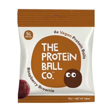 TheProteinBallCo.Veganproteinballs&#;ΠρωτεϊνικέςμπαλίτσεςVeganγρ&#;Raspberrybrownie