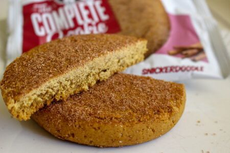 Lenny Larrys The Complete Cookie Review Snickerdoodle Texture Up Close