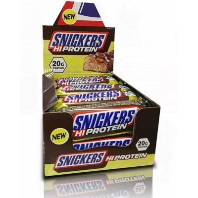 Snickers Hi Protein display
