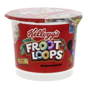 Kelloggs Froot Loops Sweetend Multi Grain Cereal g