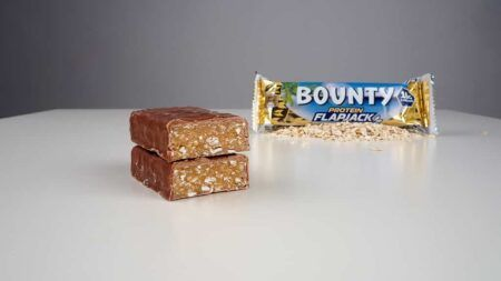 bounty protein flapjack in