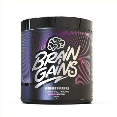 brain gains black edition nootropic brain fuel watermelon