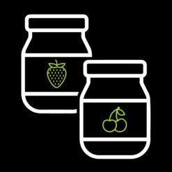 Φυστικοβούτυρο – Μαρμελάδες – Πραλίνες