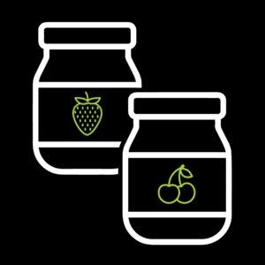 Φυστικοβούτυρο - Μαρμελάδες - Πραλίνες
