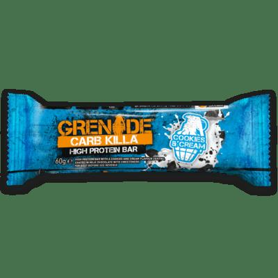 Grenade Carb Killa Μπάρες Υψηλής Πρωτείνης Cookies Cream γρ