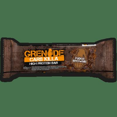 Grenade Carb Killa Μπάρες Υψηλής Πρωτείνης Fudge Brownie γρ
