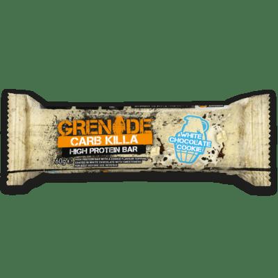 Grenade Carb Killa Μπάρες Υψηλής Πρωτείνης White Chocolate Cookie γρ