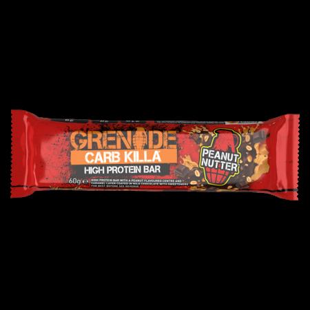 Grenade Carb Killa Μπάρες Υψηλής Πρωτείνης Peanut Nutter γρ