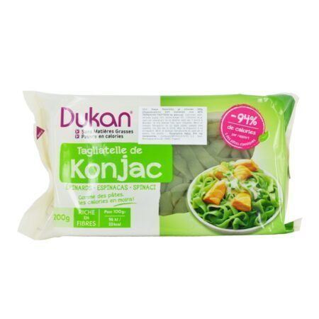 Dukan Expert Konjac Tagliatelle with Spinach   gr