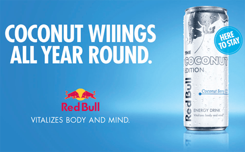 Red Bull The Coconut Edition