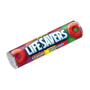 all city candy life savers hard candy  flavors  oz roll hard wrigley  roll