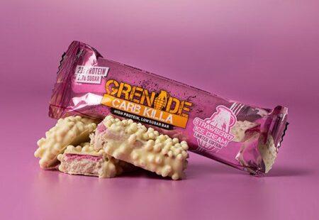 grenade carb killa strawberry ice cream