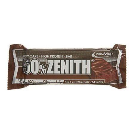 ironmaxx  zenith low carb high protein bar gr milk chocolate
