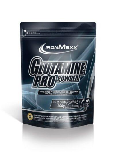 ironmaxx glutamine pro g beutel