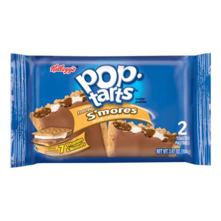 large pop tarts smores  twin pack