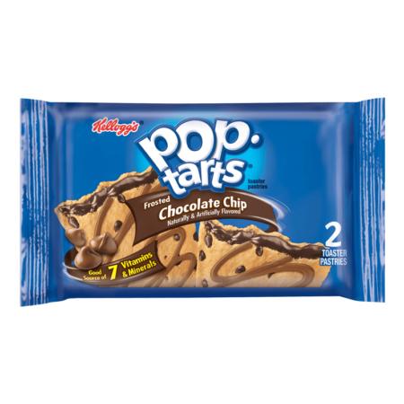 pop tarts chocolate chip  twin pack