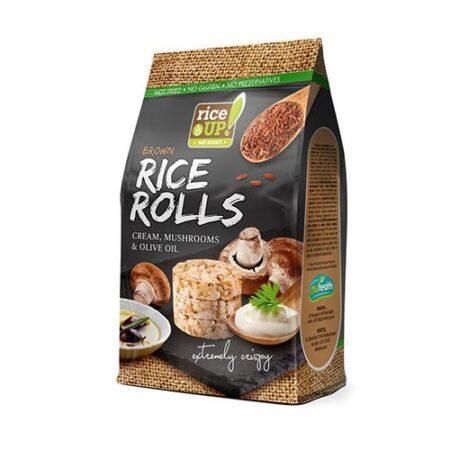 rolls mushrooms