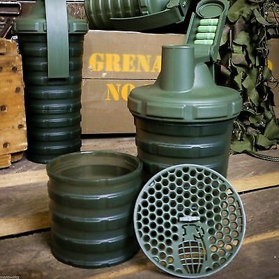Grenade Shaker Blender Mixer Bottle Cup oz ml