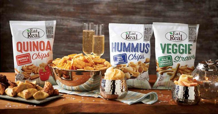 Eat Real Snacks perfect for sharing