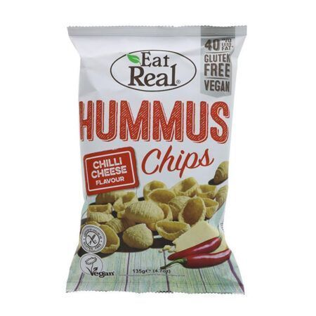 Eat Real Hummus Chilli Cheese Chips g